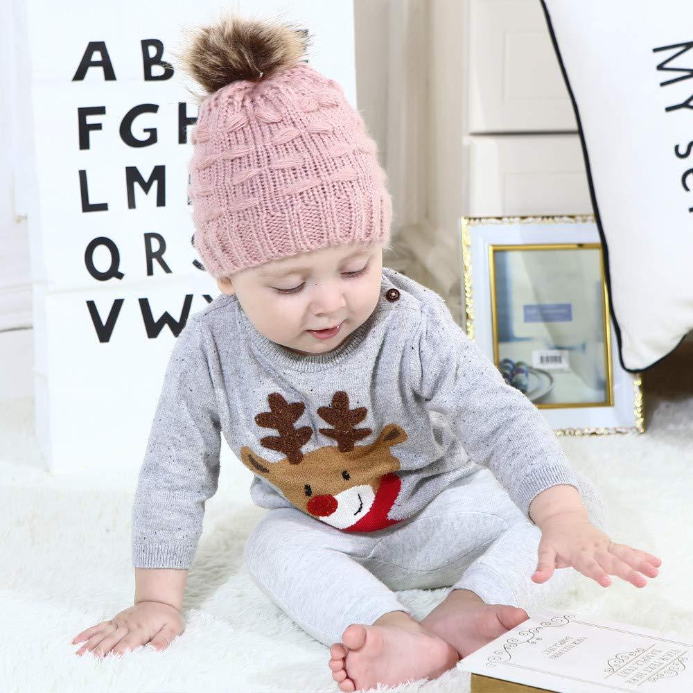 Longzjhd Niedlich Mützen Kinder Hut Mädchen Junge Baby Hut Säugling