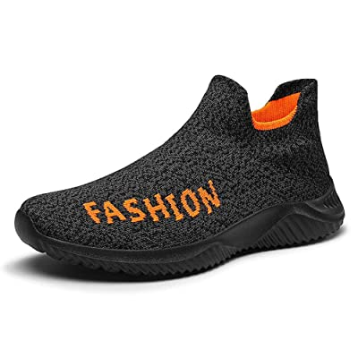Men's Slip-Ons Sock Walking Shoes - Mesh Breathable Slip On Athletic Casual Fashion Shoes Sneakers Loafers Like Wear Socks | Loafers & Slip-Ons