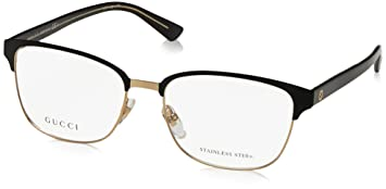 b6dfbee1c6f Amazon.com  Gucci eyeglasses GG 4272 2CG Metal Black - Gold  Shoes