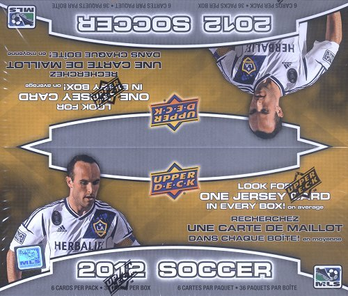 MLS 2012 Upper Deck Soccer Retail (36 Packs)