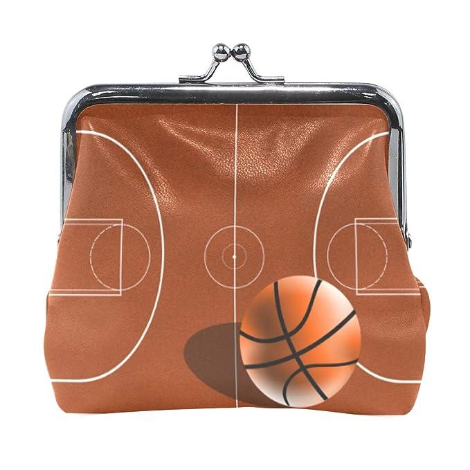 XiangHeFu Cartera Mujer Monedero Baloncesto Campo Bolso Clutch ...