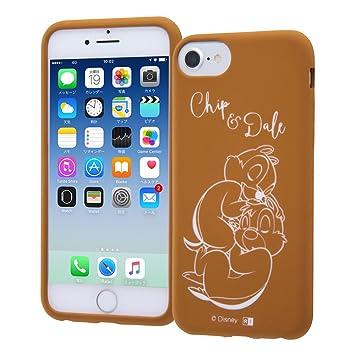 06c3e1c21a iPhone6 / iPhone6s / iPhone7 / iPhone8 ケース ディズニー シリコンケース カーヴィング/チップ&デール
