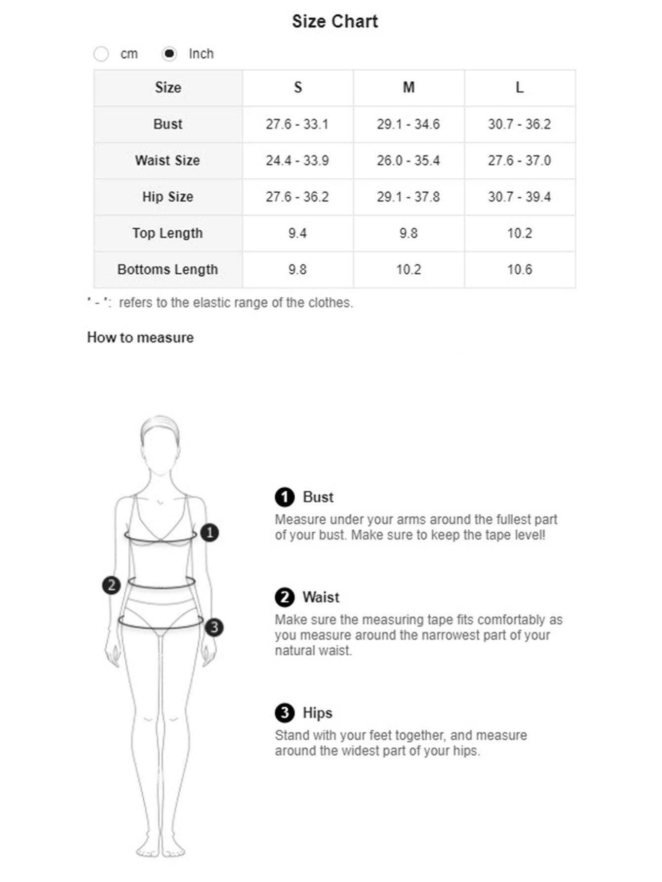 SweatyRocks Women's Sexy Bikini Swimsuit Floral Print Tie Knot Front Swimwear Set Multi M by SweatyRocks (Image #6)