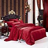 Customizable Handmade Silk Duvet Cover Machine Washable Luxurious 100% Pure Mulberry Silk by Luxuer