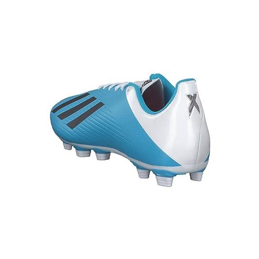 adidas Performance Predator 19.4 FxG Fußballschuh Herren schwarz/hellblau, 11 UK - 46 EU - 11.5 US