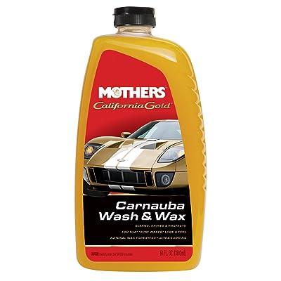 Mothers 05674 California Gold Carnauba Wash & Wax, 64 oz.: Automotive