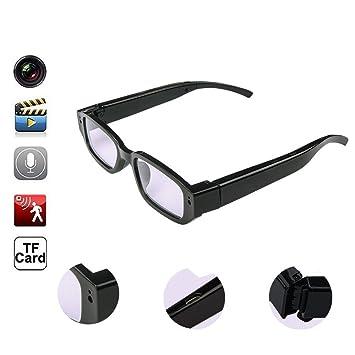 OOLIFENG Oculto Cámara Gafas HD Mini Gafas Sol Leva DVR Grabadora Vídeo DV Videocámara