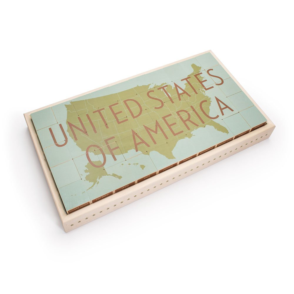 Uncle Goose United States Blocks - Made in USA