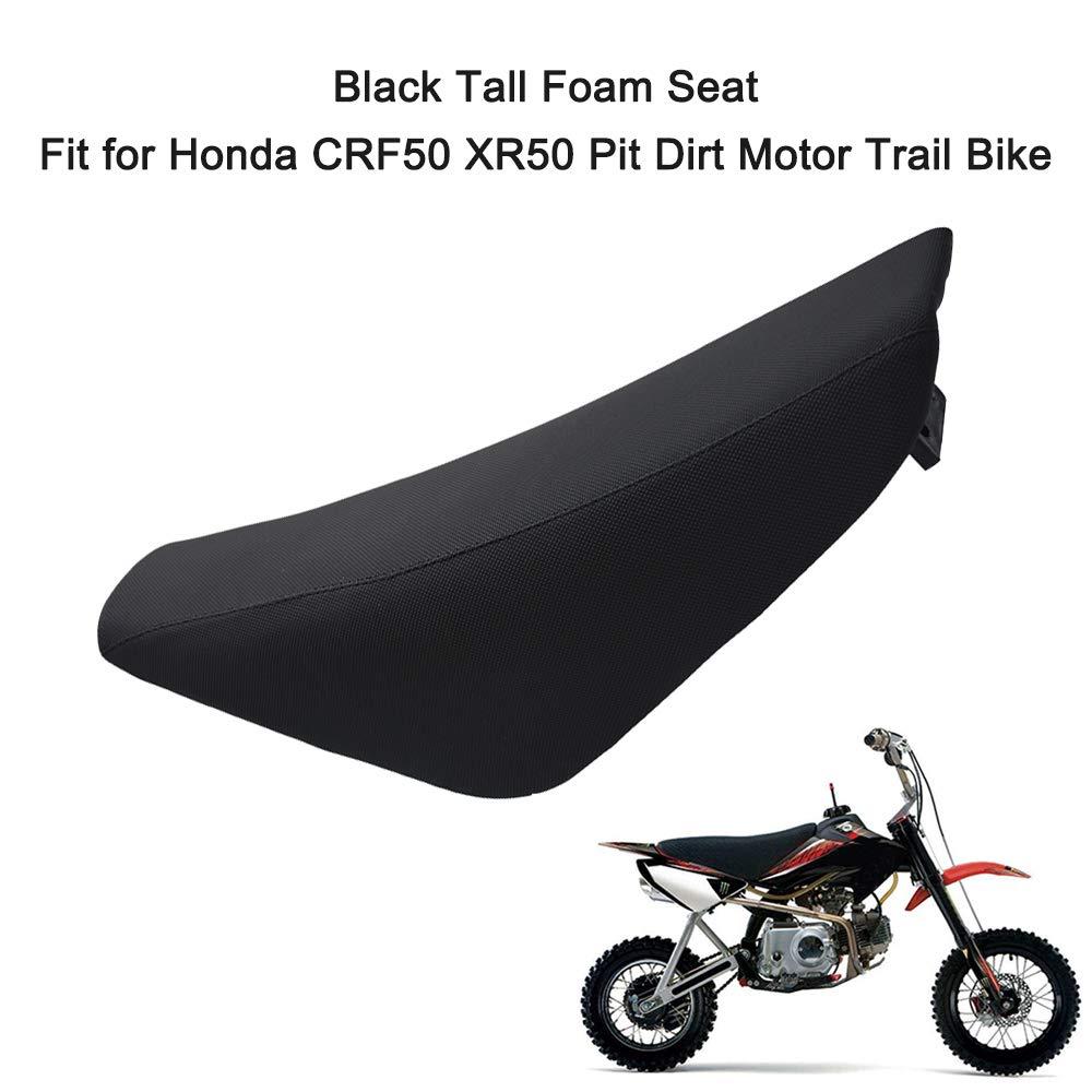 KKmoon Grand si/ège en Mousse Noir pour Moto CRF50 XR50 Pit Trail