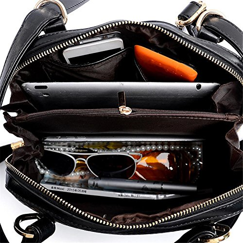 Dame-Schulter-Beutel-Art- und Quaste großen Kapazitäts-Rucksack-Schulter-Oblique-Kreuz-Handtasche