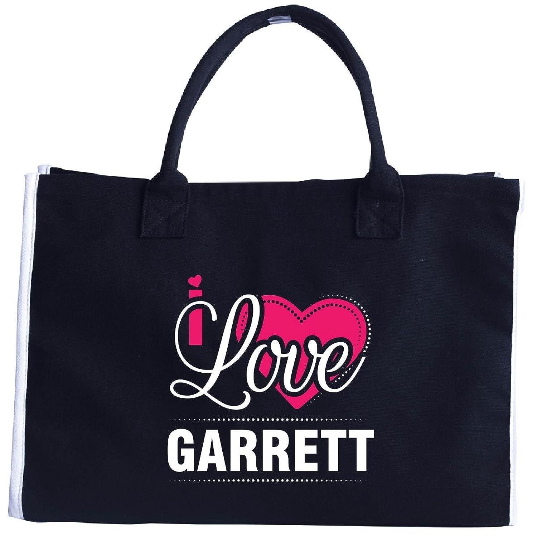 I Love Garrett - Cool Gift For Garrett From Girlfriend - Tote Bag