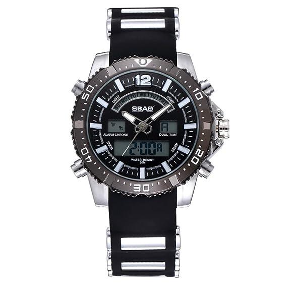 hcfkj SBAO simple reloj de pulsera moda hombre Top Brand de Lusso famoso reloj macho