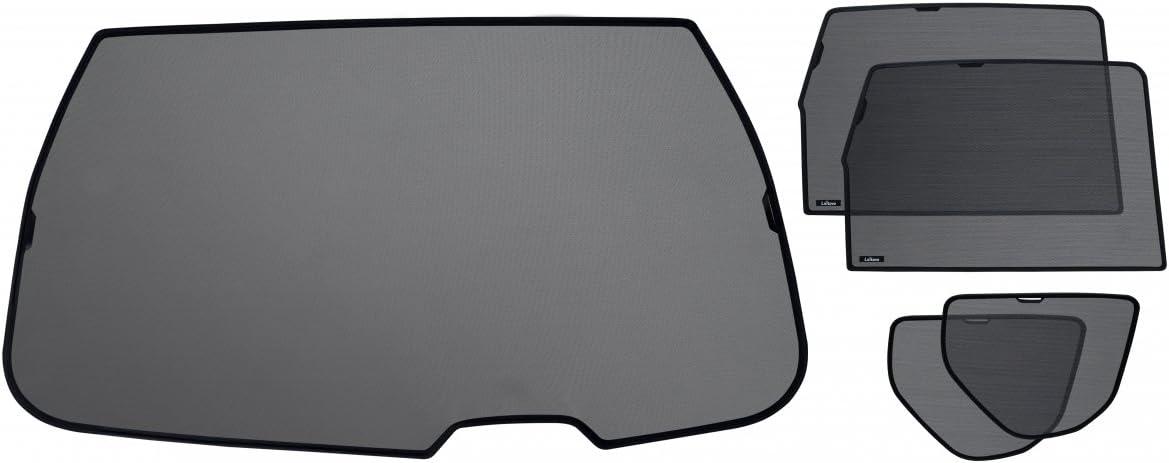 Laitovo Kit de Pare-soleils sur mesures pour Toutes Les vitres arri/ères de Skoda Roomster Compact MPV 5 2006-2016