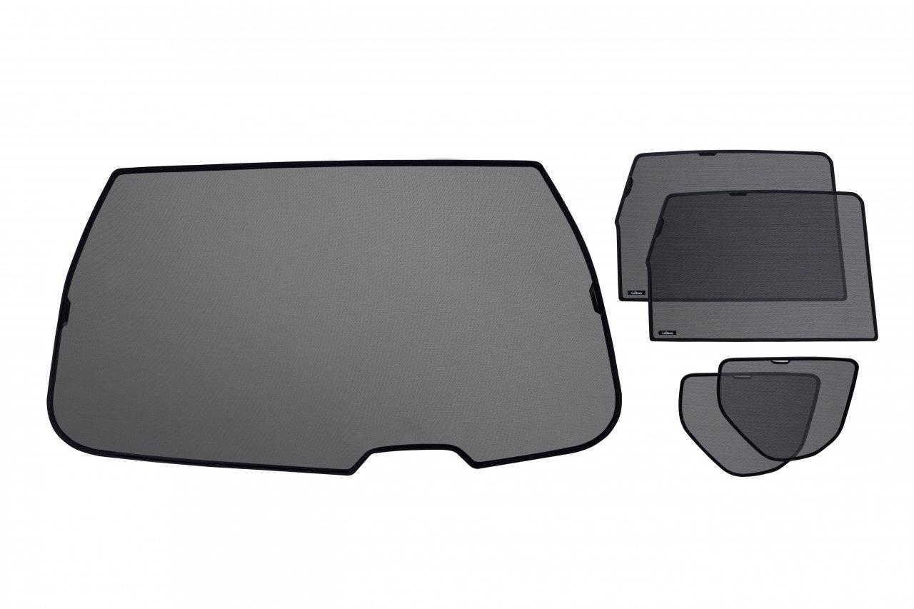 2007-2012 Kit de pare-soleils sur mesures pour toutes les vitres arri/ères de Peugeot 4007 Crossover 5