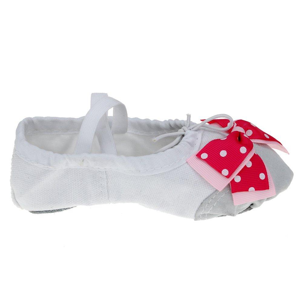 Classic Bow Ballet Dance Slipper for Child