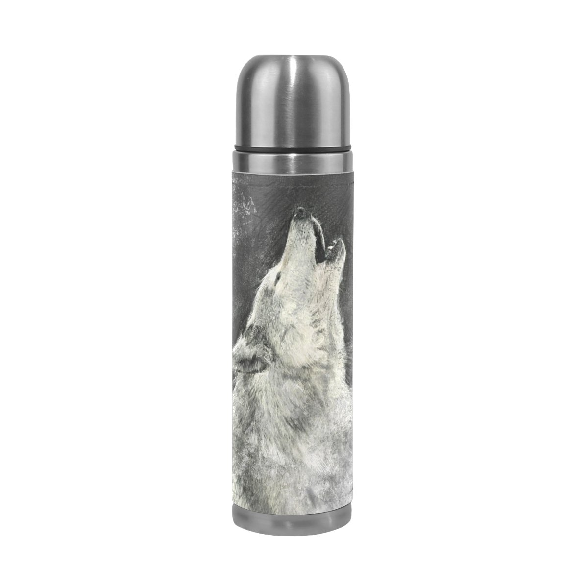 Grizzly Bear 18oz Vacuum Insulated Travel Tumbler