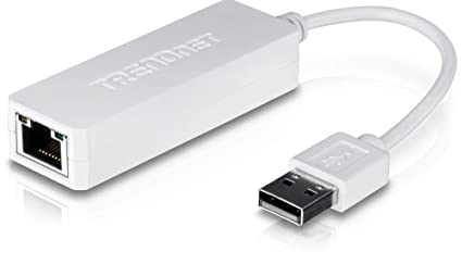 TRENDnet USB 2 0 to 10/100 Fast Ethernet LAN Wired Network Adapter,  Compatible with Windows 10, 8 1, 8, 8 RT, 7, Mac OS 10 X, TU2-ET100