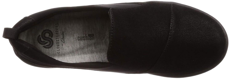 En Sillian Détente Paz Chaussures Femme Textile Noir Amazon Clarks xX4Ox