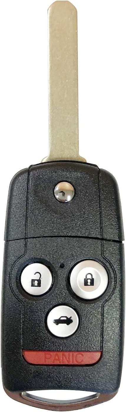 Replacement For 2007-2013 Acura MDX 4 Button Car Key Fob Remote N5F0602A1A Fccid SINGLE N5F0602A1A;by AUTO KEY MAX