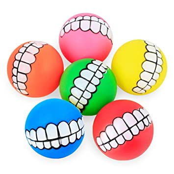 Juguete De Goma Masticar Mascotas Perro Masticar Juguete Pet Ball ...