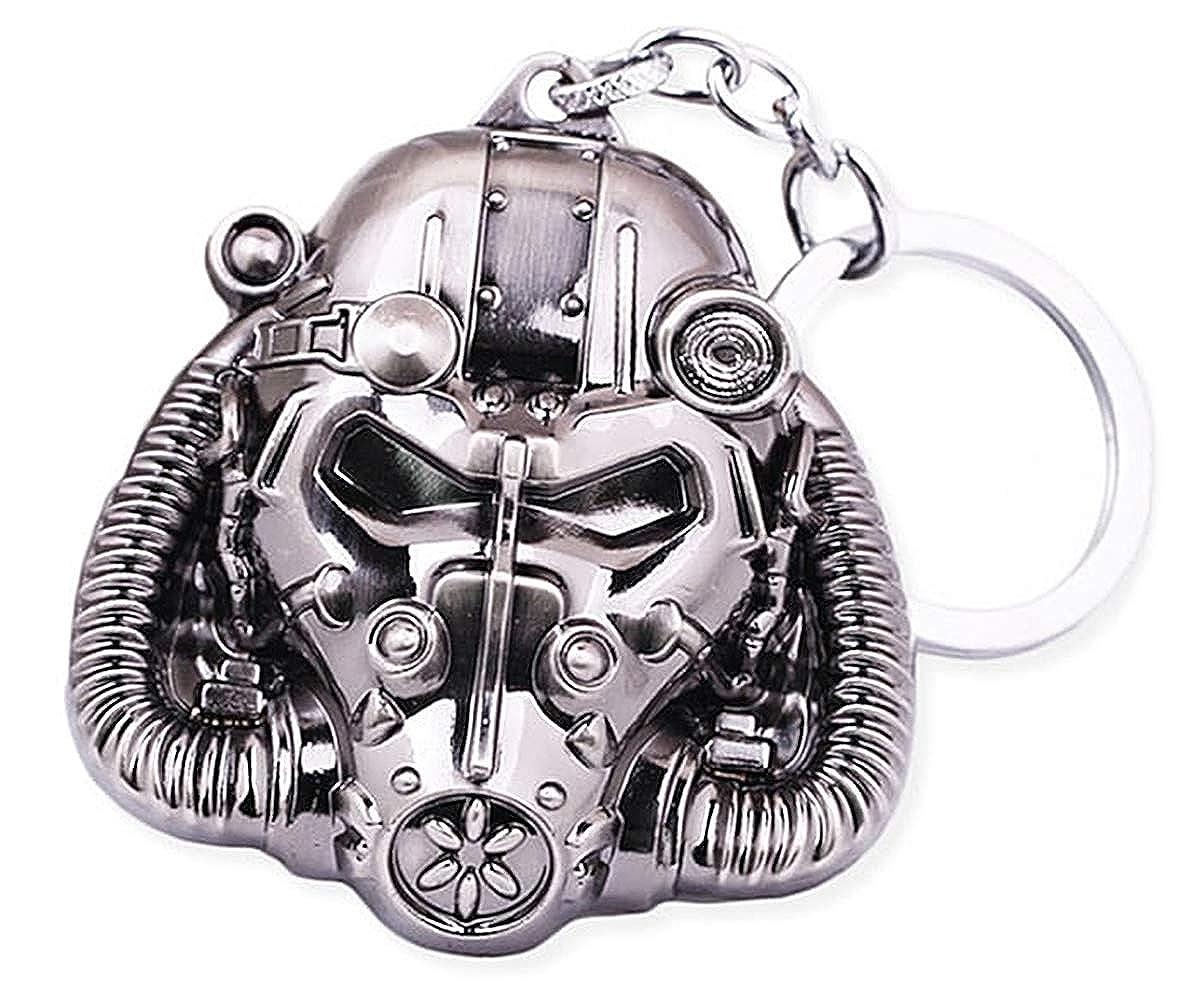 Fashion Jewery Llavero Key Chain Colgante Fallout 4 Máscara ...