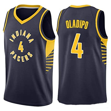 the latest 6defd 129a9 Victor Oladipo #4 Men's Basketball Jersey - NBA Indiana ...