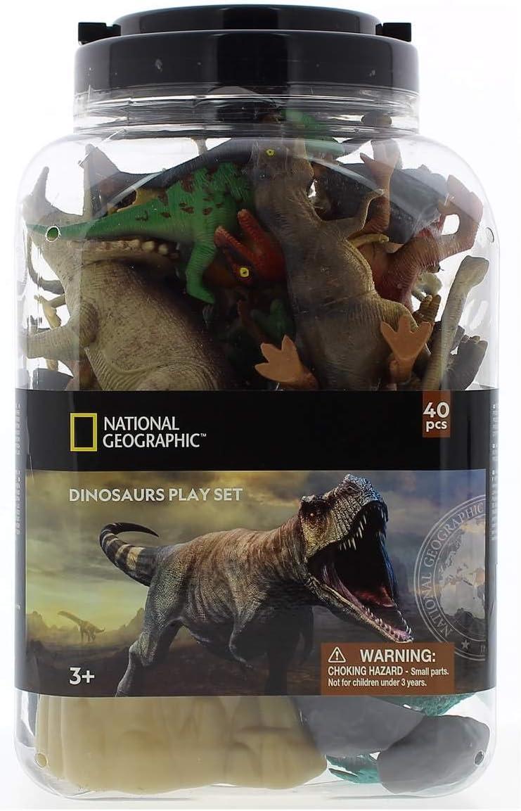 SELECCION DRIM National Geographic Cubo de Dinosaurios 40 Piezas