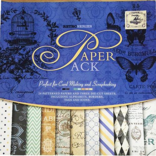 27 Sheets Vintage Paper Pad 12