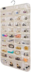 BB Brotrade Hanging Jewelry Organizer,80 Pocket Organizer for Holding Jewelries (3 Set)
