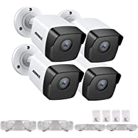 ANNKE 5MP PoE IP Camera for Surveillance Camera Syetm, Security IR Night Vision Motion Detection (4-Pack)