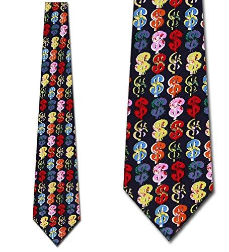 igns Navy Tie - Men's Novelty Neckties ()