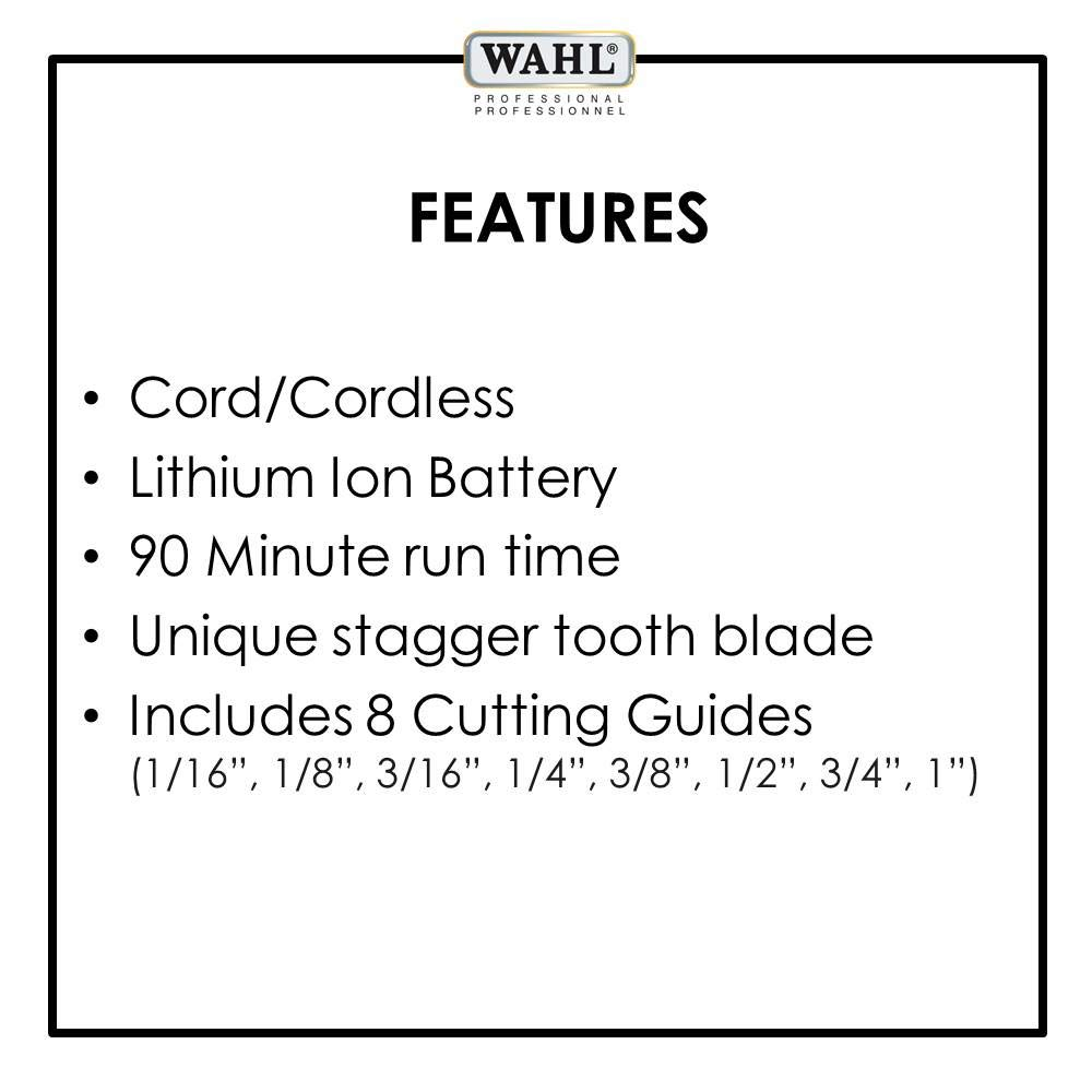 5 Star Beauty Fashion Milledgeville Ga: Wahl Professional 5-Star Cord/Cordless Magic Clip #8148