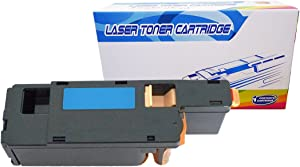 Inktoneram Compatible Toner Cartridge Replacement for Dell 1250c 1350cnw 1355cn 1355cnw C1760nw C1765nf C1765nfw 332-0410 (Cyan)