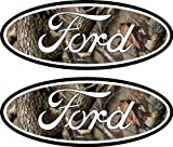 2007 ford f150 emblem decal - 2 Camouflage Ford Emblem Decals Stickers 04-11 Ranger F150 F250 F350 4x4 Camo Sd
