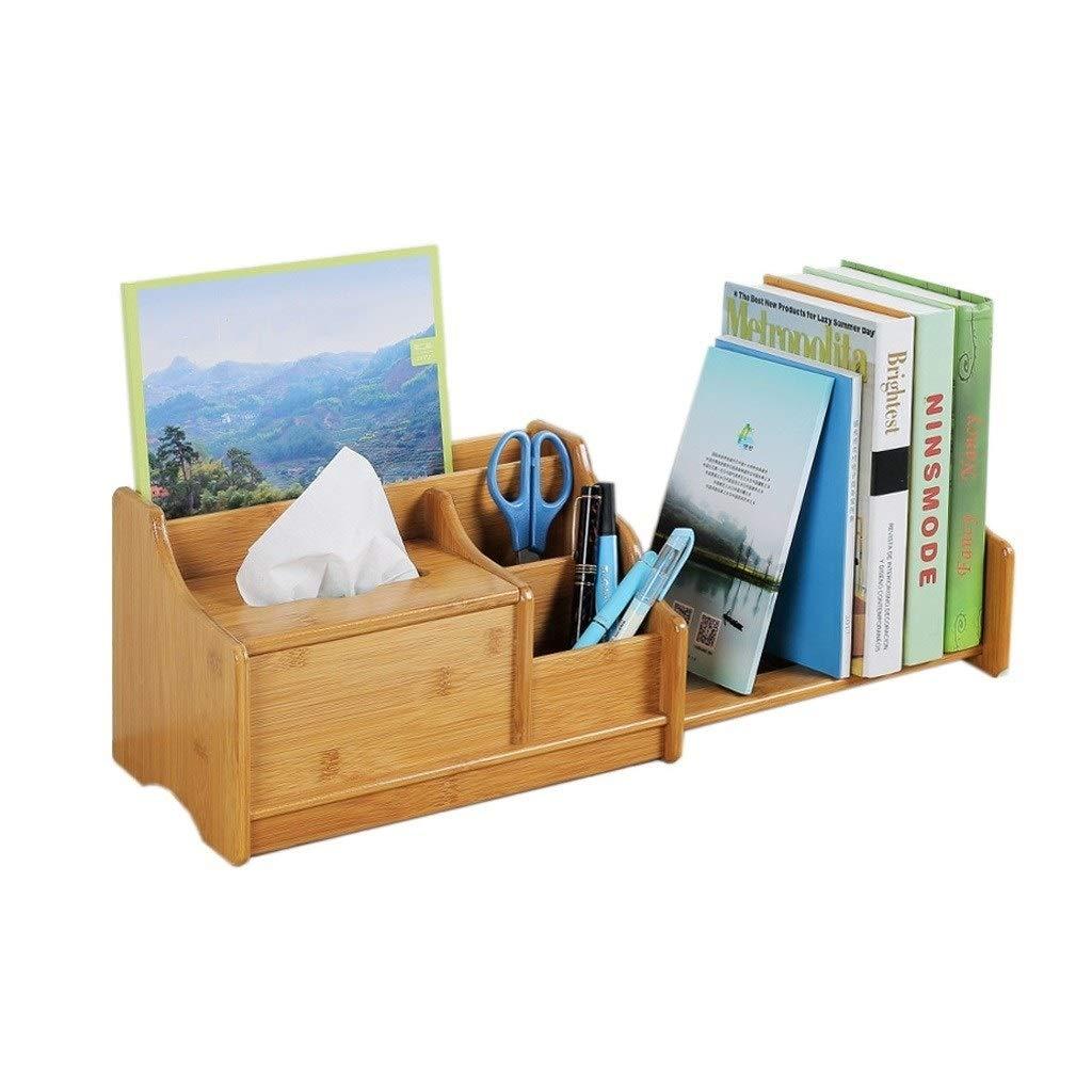 TIAN Desktop Bookshelf Desk Shelf Storage Box for Student Office Desktop Bookshelf Storage Shelf by TIAN
