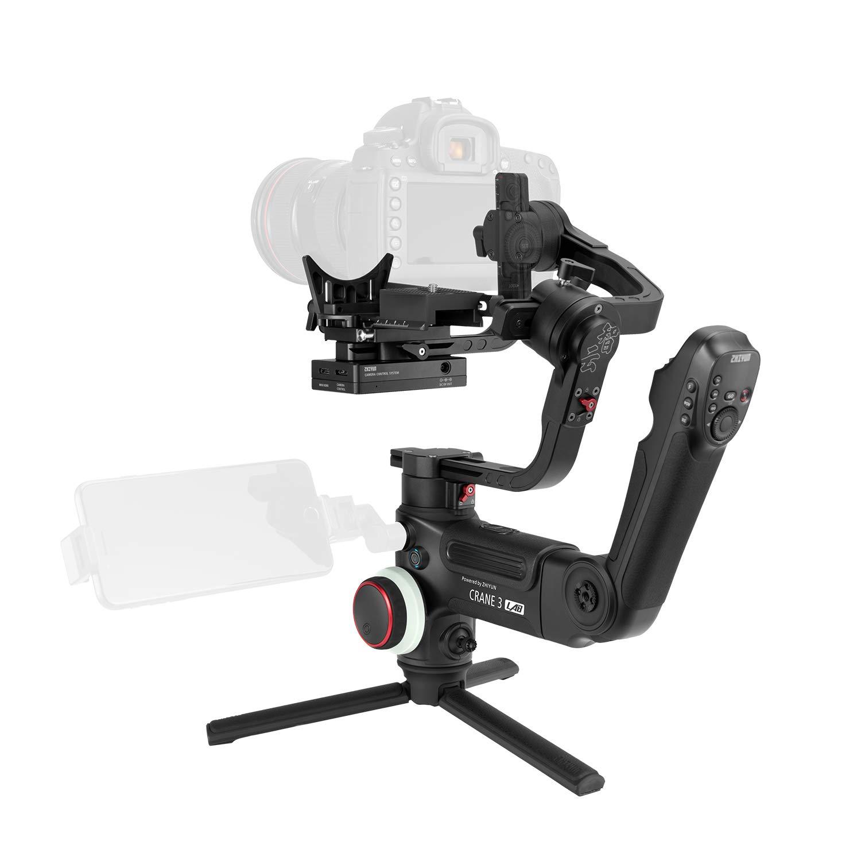 Zhiyunクレーン3 LAB 3軸ハンドヘルドジンバルDSLRカメラスタビライザーViaTouchコントロールワイヤレスマッピング標準パッケージ   B07SDF1DLH
