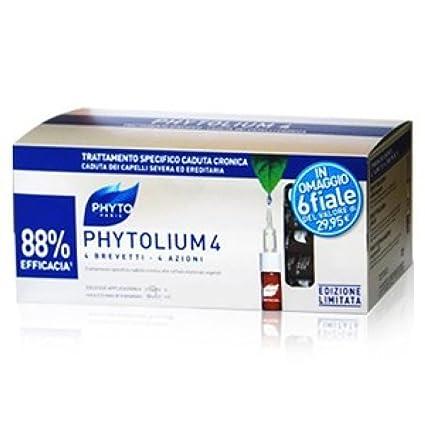 Phyto Phytolium 4 intensivo del cabello tratamiento de la caída de los hombres la caja especial