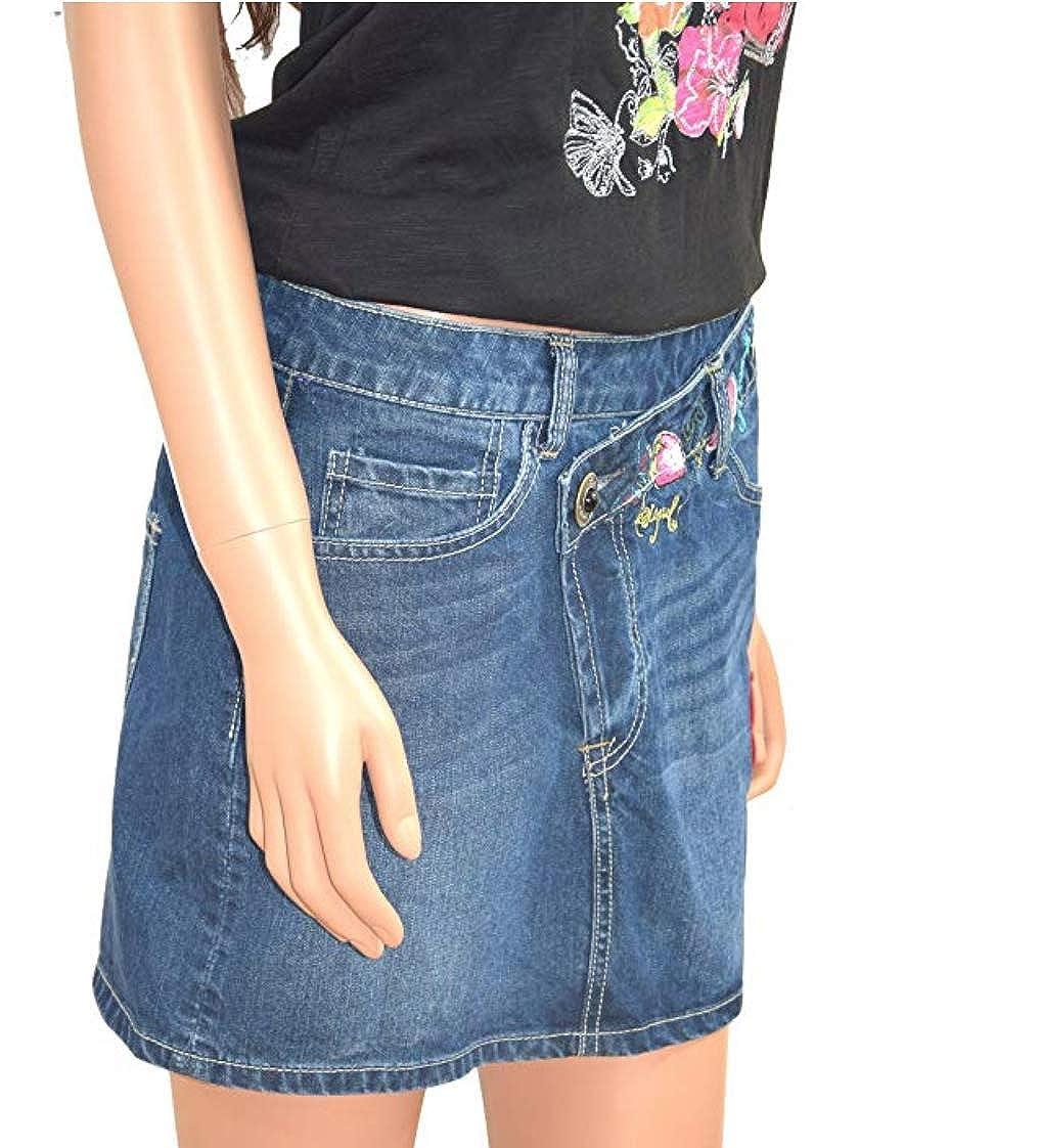Desigual Falda Mujer Talla 38 Euro: Amazon.es: Ropa y accesorios
