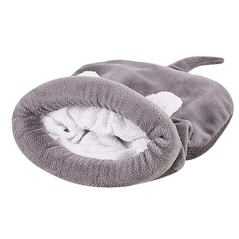Ausomely Mascotas Nest Casa Cama Nido de casa para Perros Perros y Gatos Cueva Pet Perro