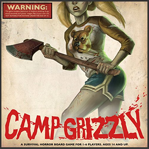 Ameritrash Games Camp Grizzly - A Survival Horror Board Game - Otis Horror Movie
