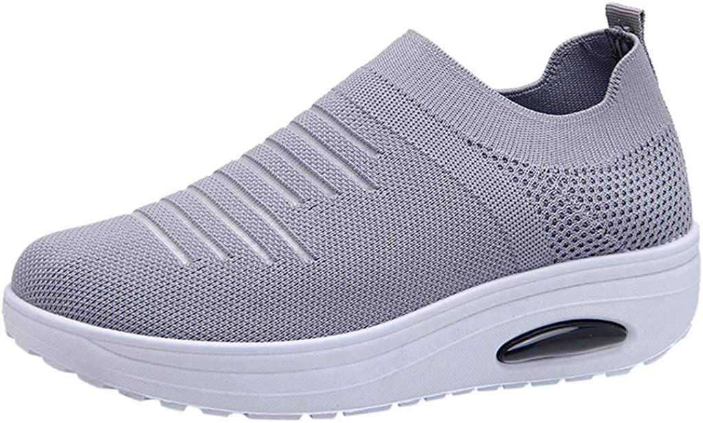 Moonker Womens Running Shoes Arch Support Wide Width Sneaker Ladies Girls Outdoor Mesh Sports Breathable Shoes Sneakers