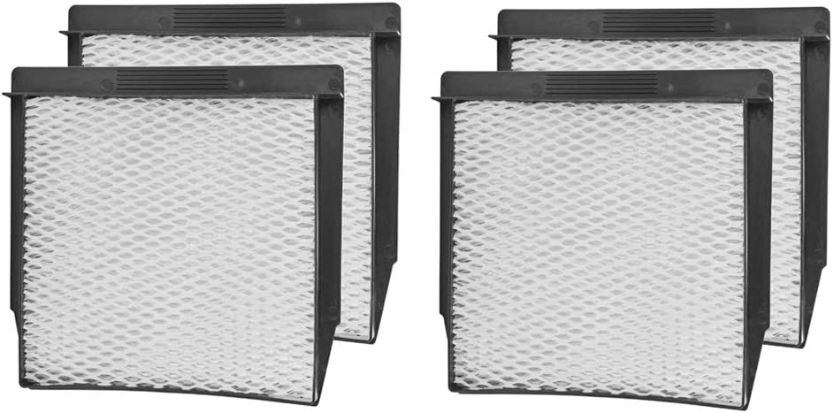 Ximoon 4 Pack Humidifier Filters Replacement 1040 Super Wick for Essick Air Humidifier Cleaner 300, 500, 700, DP3, D46, and B23 Series,Bemis Series 5000 and 7000