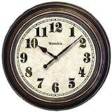 Westclox 32213 Round Oversized Classic Clock, 24-Inch