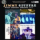 Four Classic Albums Plus: Jimmy Giuffre / Tangents in Jazz / The Jimmy Giuffre 3 / Historic Jazz Concert at Music Inn