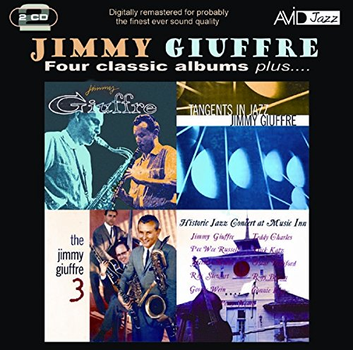 four-classic-albums-plus-jimmy-giuffre-tangents-in-jazz-the-jimmy-giuffre-3-historic-jazz-concert-at