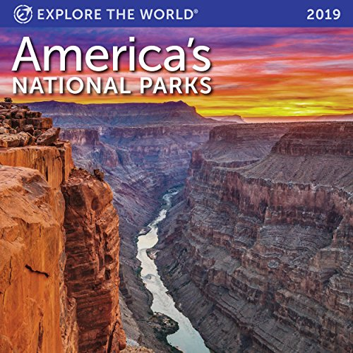 America Wall Calendar - America's National Parks Mini Wall Calendar 2019 Monthly January-December 7