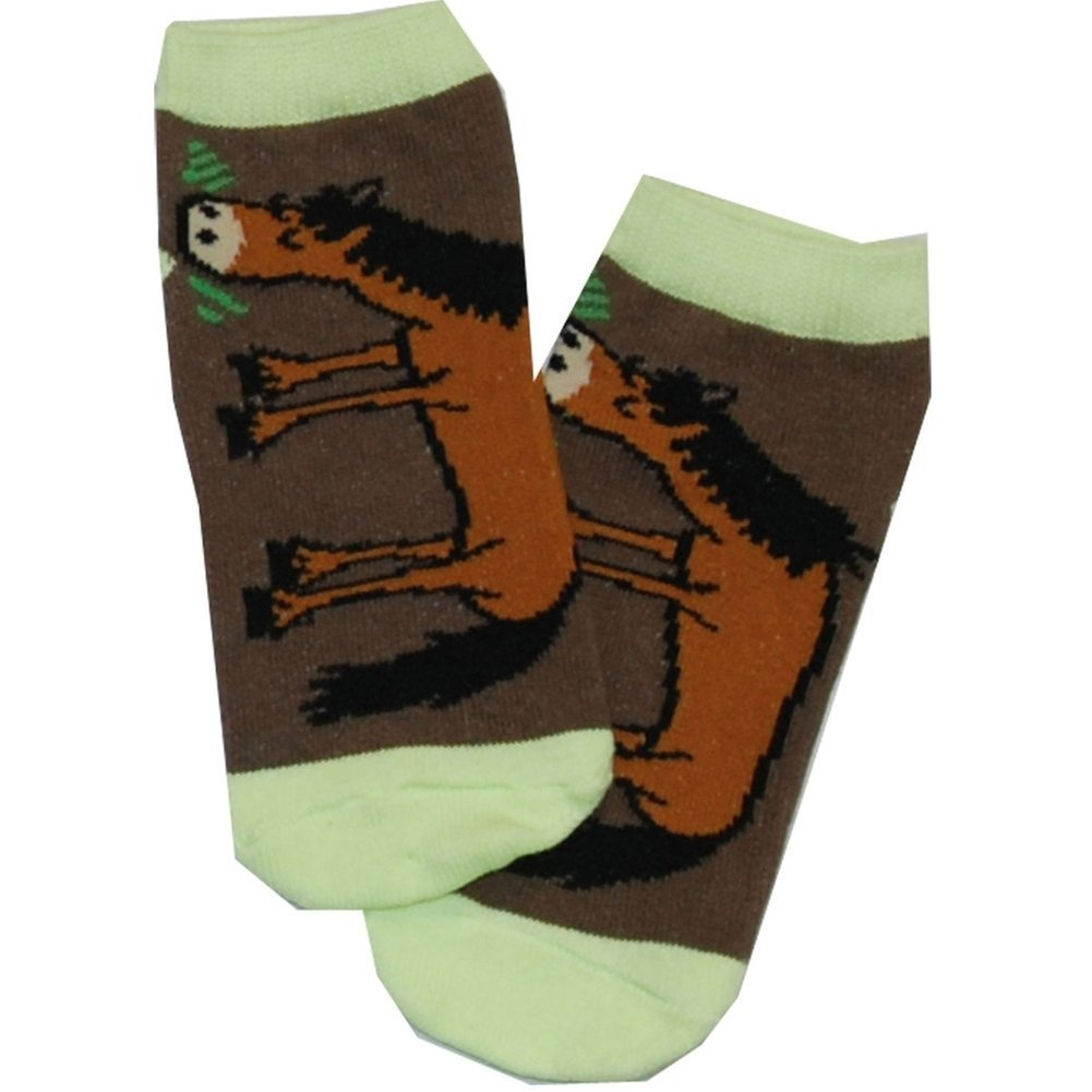 Horse Pasture Bedtime Kid's Socks Lazy One AW020263-YS