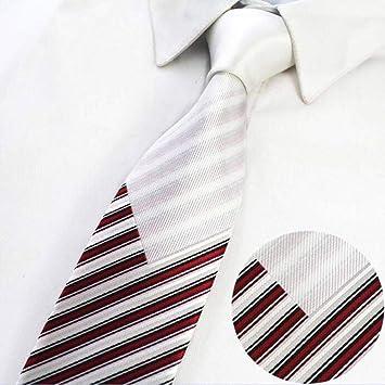 KYDCB Nuevo diseño 7 cm Lazos para Hombre Corbata Delgada Flaco ...