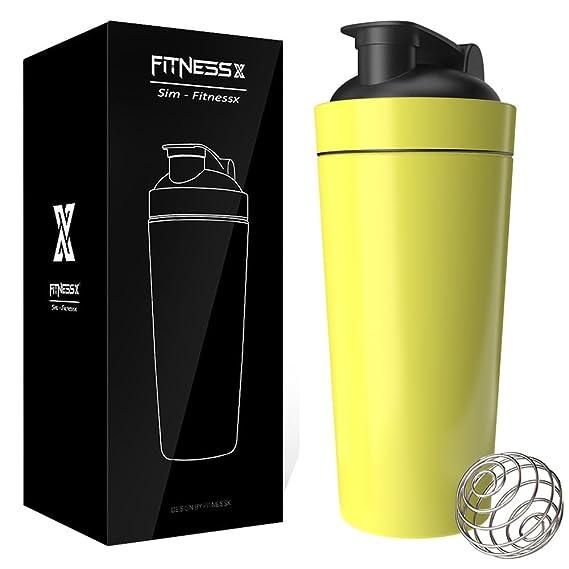 plc020 Sportmixer Fitness Acero Inoxidable proteína Coctelera ...