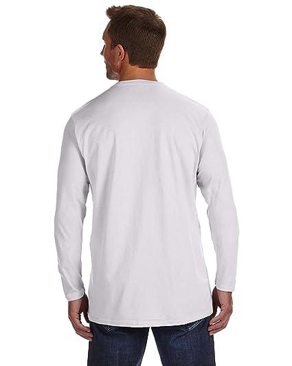 0ed50b96 Hanes 4.5 oz. 100% Ringspun Cotton nano-T Long-Sleeve T-Shirt ...
